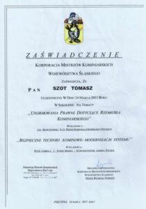 certyfikat szkolenie 2
